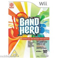 Band Hero Wii (Game Only) 65 by the Biggest Artists New in Sealed Box (PAL)