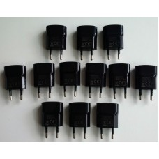 10 x Genuine 2-Pin Blackberry USB Mains Charger for 9720 Q5 Q10 Z10 Z30 Passport