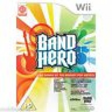 5 x boxed Games - Band Hero Wii (Game Only) 65 Chart Topping Song PAL UK