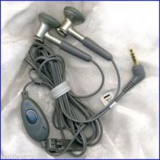 GREY MOTOROLA 2.5mm HEADSET FOR A1000 C550 E1 E550 V220 V500 V600 V975 V980 W375