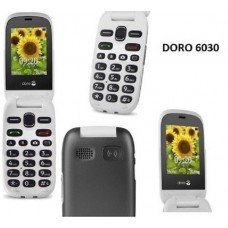 Doro 6030 Big Buttons Loud Clear Sound Flip Mobile Phone Unlocked - Easy to Use