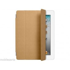 Genuine New Retail Boxed Apple iPad 2 3 & 4 Brown Folding Smart Cover MD302ZM/A