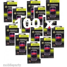100 x Powermat Charging Battery Cover / Receiver Blackberry Curve 8520 & 9300 3G