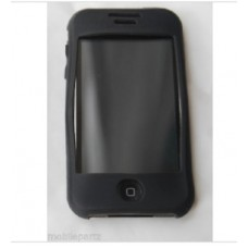 Black Soft Silicone Skin Case Cover for the Apple iPhone 3G 3GS Seconds / Graded