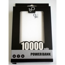 2 Port 10000 mAh Powerbank External Battery Portable Charger iPhone Samsung LG