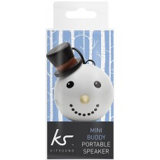 Kit Sound Mini Buddy Wired Portable Snowman Speaker for iPhone iPad Android