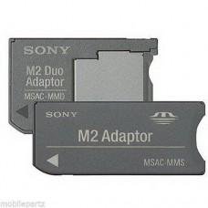 Sony Memory Stick Micro M2 to Memory Stick Standard / Pro Duo Card Adaptor