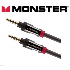 Monster® i800 3.5mm - 3.5mm HQ Auxiliary Cable Stereo Aux Audio Lead 7ft / 2m