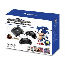 Sega Mega Drive Classic Game Retro Console with 81 Built-In Games