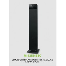 M-1350 Bluetooth Mini Tower 2.1 Stereo Speaker with CD AUX NFC MP3 120W of Power