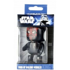 Official Star Wars Wind-Up Walking Wobbler Darth Maul Mini Figure Character Toy