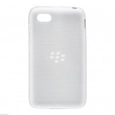 Genuine Used BlackBerry Q5 Clear Translucent Soft Shell Cover Skin ACC-54693-202