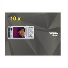 10 x GENUINE NOKIA N95 ENGLISH USER MANUAL GUIDE CD ROM