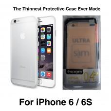 Spigen Air Skin / Airskin Premium Ultra Slim Cover Case for iPhone 6 6s - Clear