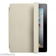 Genuine New Retail Boxed Apple iPad 2 3 & 4 Cream Folding Smart Cover MC952ZM/A