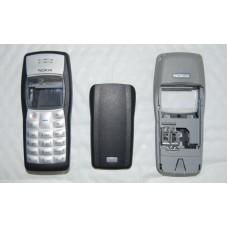 Genuine Nokia 1100 Black & Grey Fascia / Covers & Keypad Graded