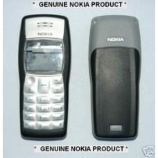 Genuine Nokia 1100 Black & Grey Fascia / Covers & Keypad Grade A