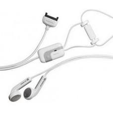White Nokia HS-3 Stereo handsfree Headset for 6230i 5140 N73 N80