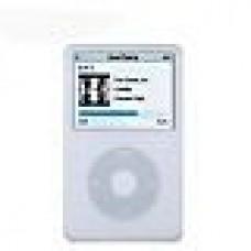 White Apple iPod Classic Silicone Skin Case Cover 80gb 120gb