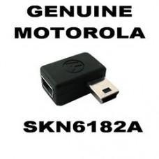 Genuine Motorola Mini USB Right Angled 90 Degree Plug-in Adaptor Male - Female - SKN6182A