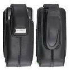 Genuine Leather Swivel Case Holster Blackberry Pearl 8100 8110