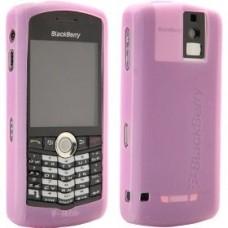 Genuine BlackBerry 8100 Pearl Pink Silicone Skin Case