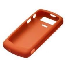 Genuine BlackBerry 8120 8130 Orange Silicone Skin Case
