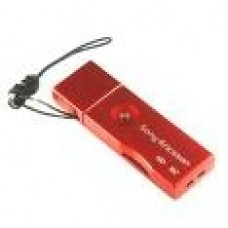 Genuine Sony Ericsson CCR-60 M2 USB Memory Card Adaptor Red