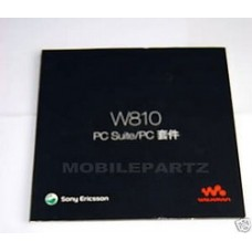 Sony Ericsson W810i W810 CD Software & PC Connectivity Suite