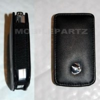 Genuine Motorola V3 / V3i Black Leather Fitted Case / Pouch