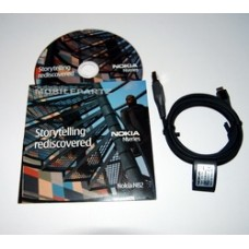 Genuine Nokia N82 CD Software / PC Suite & CA-101 Data Cable