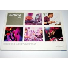 Nokia N91 Mobile Phone User Guide / Manual / Booklet