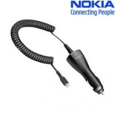 Genuine Nokia DC-6 Car Charger for N97 N85 8600 6500C Arte