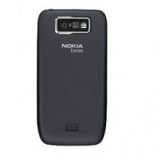 Genuine Nokia E63 Back / Rear / Battery Cover - Black