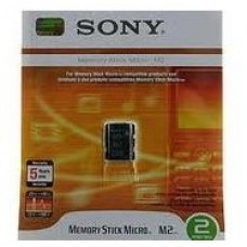 Sony 2gb M2 Memory Stick Micro for C902 G900 K770i W995