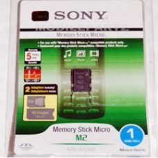 Sony 1gb M2 Memory Stick Micro for K800i K850i W880i W890i