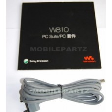 Genuine Sony Ericsson W810i CD Software / PC Suite & Data Cable